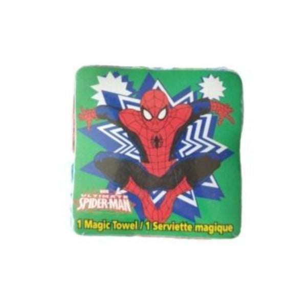 Marvel - Toalla Magica Spiderman Verde