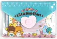 Sanrio - Set de Papel Carta de Little Twin Stars con Broche-Sanrio-Monono-Peru