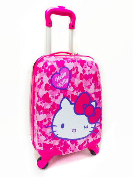 Sanrio - Maleta de Ruedas Hello Kitty Hearts