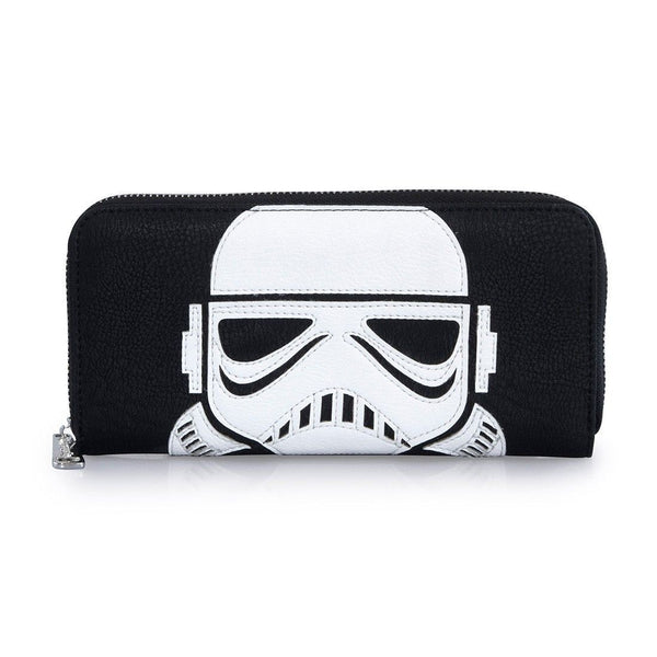 Loungefly - Billetera Star Wars Laser Cut Stormtrooper-Star Wars-Monono-Peru