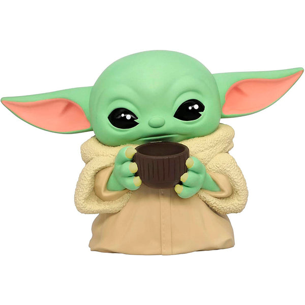 Star Wars - Alcancía Busto The Mandalorian Baby Yoda con Taza The Child