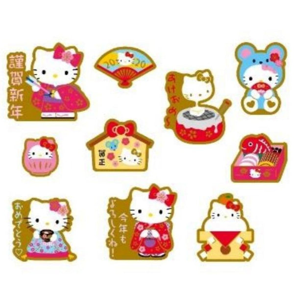 Sanrio - Stickers Hello Kitty New Year