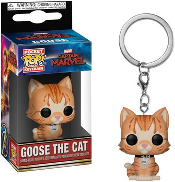 Marvel - Llavero Funko de Goose The Cat-Marvel-Monono-Peru