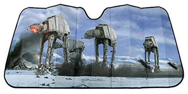 Star Wars - Tapasol Frontal para Auto de Hoth Scene AT AT