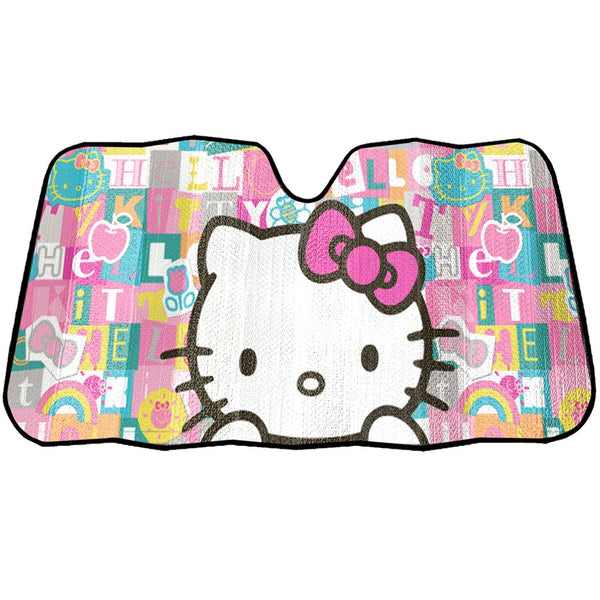 Sanrio - Tapasol Frontal para Auto de Hello Kitty Tile Art