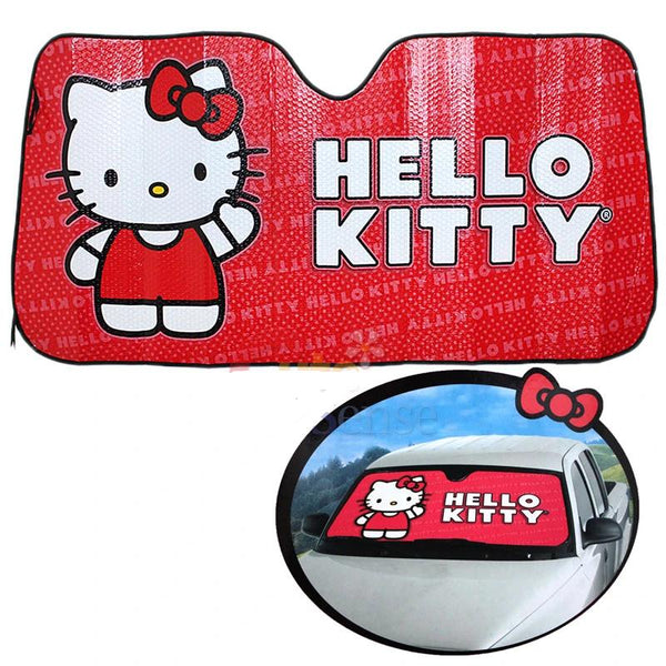 Sanrio - Tapasol Frontal para Auto de Hello Kitty Core