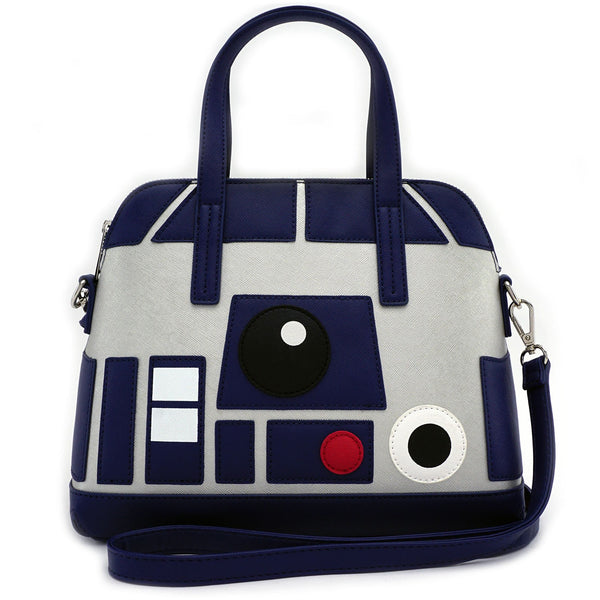 Loungefly - Cartera Star Wars R2-D2 Saffiano Faux Leather