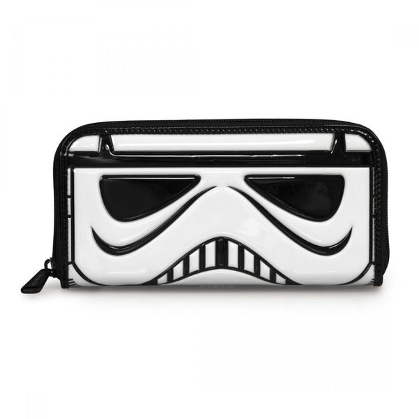 Loungefly - Billetera Star Wars Stormtrooper Patent Face