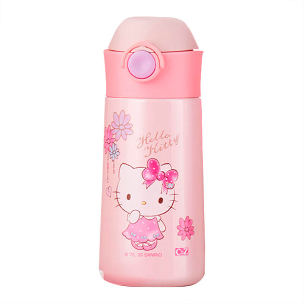 Sanrio - Termo de Acero Inoxidable Hello Kitty Flowers 350 ml