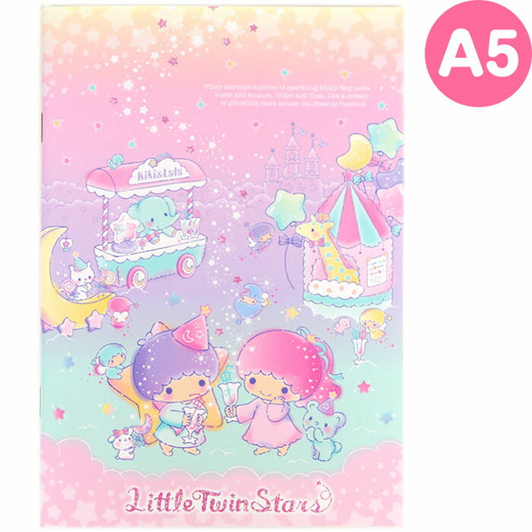 Sanrio - Cuaderno A5 Little Twin Stars Milky Way