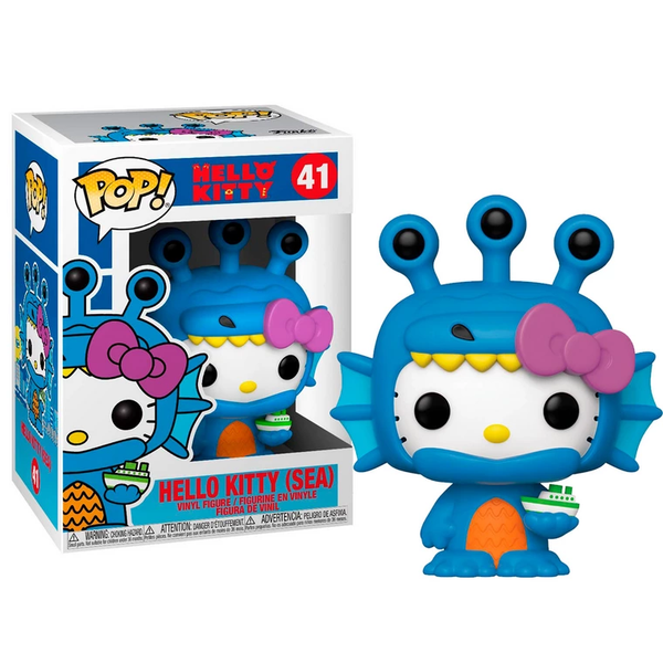 Sanrio - Funko Pop de Hello Kitty x Kaiju Sea