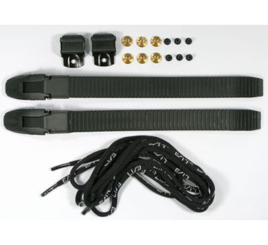 USD Replacement Buckles w/ Laces Kit - Black