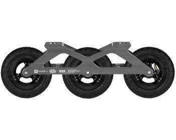 KIZER SUV FRAMES SUV 3x125 Complete with Rustproof Bearings *Ships by mid-July* - Oak City Inline Skate Shop