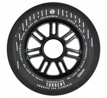 Load image into Gallery viewer, Powerslide Torrent Rain Wheels 100mm 84a (4 pack)