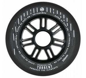 Powerslide Torrent Rain Wheels 100mm 84a (4 pack)