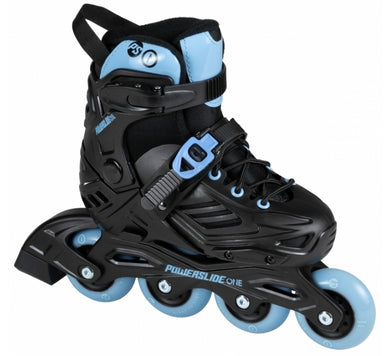 Powerslide One Khaan Jr Limited Skate for Kids - Oak City Inline Skate Shop