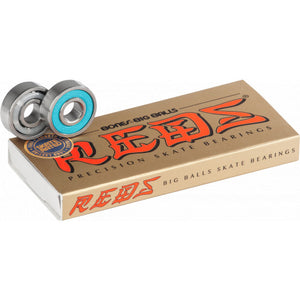 Bones Big Balls Reds bearings - Oak City Inline Skate Shop