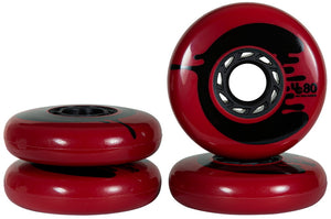 Undercover Cosmic Rosche Red Wheel 80mm 88a (4pk) - 2021 Batch
