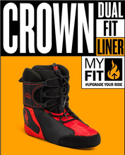 Load image into Gallery viewer, MyFit Liner Crown Dual Fit - Oak City Inline Skate Shop