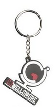 Load image into Gallery viewer, Seba Rubber Key Chain CJ LOGO