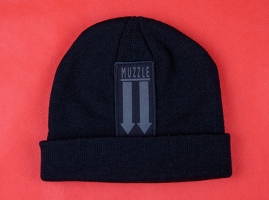 Muzzle Arrow Patch Beanie