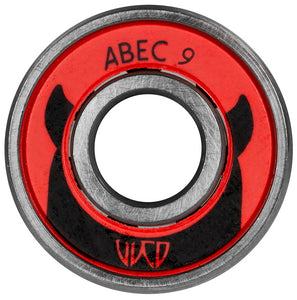 Wicked Bearings 16 pack with Case - Oak City Inline Skate Shop