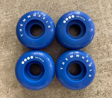Them Wheels Antirocker 44mm 101a - Oak City Inline Skate Shop