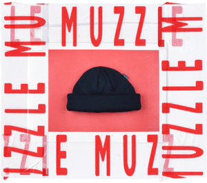Muzzle: Black Beanie (With Stitched Tag) - Oak City Inline Skate Shop