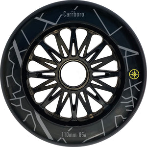 Compass Carrboro Wheel 110mm 85a (6pk) - Oak City Inline Skate Shop