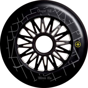 Compass Chapel Hill Wheel 100mm 85a (6pk, 8pk) - Oak City Inline Skate Shop