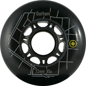 %%Compass 72mm 88a Durham wheel - Oak City Inline Skate Shop