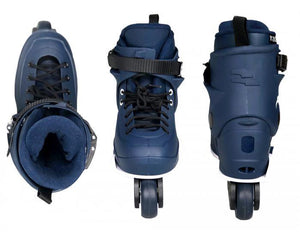 Genesys Jr Navy/White - Oak City Inline Skate Shop