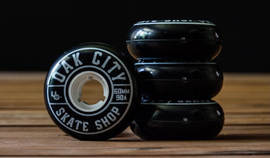 Oak City 60mm 90a Wheel - Poured by Undercover