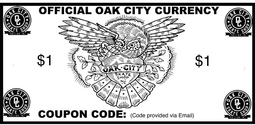 Oak City Gift Certificate