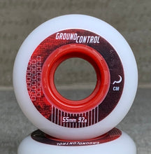 Load image into Gallery viewer, Ground Control Earth City Wheel 55mm 92a (White)