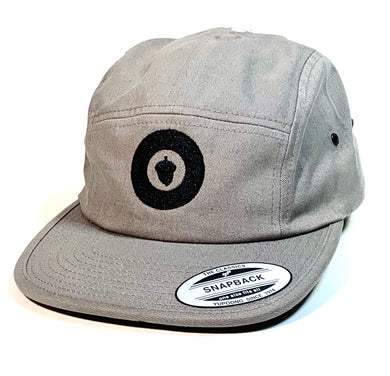 Oak City 5 Panel (gray) - Oak City Inline Skate Shop