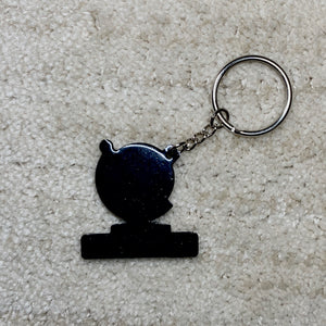 Seba Rubber Key Chain CJ LOGO