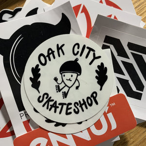 Free Stickers - Oak City Inline Skate Shop