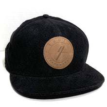 Load image into Gallery viewer, Youth Frameworks Black Corduroy Hat - Oak City Inline Skate Shop
