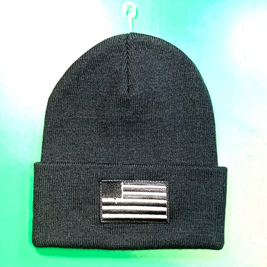 Valo American Flag Knit Beanie - Oak City Inline Skate Shop