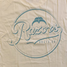 Load image into Gallery viewer, Razors Slugger Tee - Cream - Oak City Inline Skate Shop