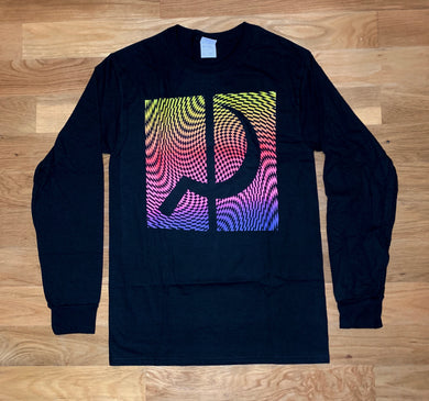 Ground Control Rainbow Psych Long Sleeve (Black)
