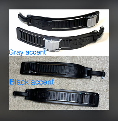Valo Replacement Straps (Black, Short)