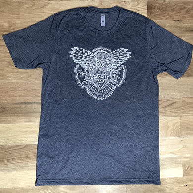 Oak City Skate Shop Owl Tee - Oak City Inline Skate Shop