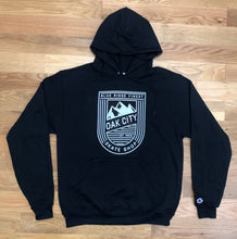 Load image into Gallery viewer, Oak City Blue Ridge Finest Hoodie (Black-Thick)