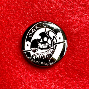 Oak City Reaper Pin - Oak City Inline Skate Shop