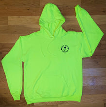 Load image into Gallery viewer, Oak City Happy Acorn Hoodie (High Visibility)