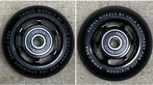 Load image into Gallery viewer, Famus Joe Atkinson Pro Wheels with Abec 9 Bearings (60mm and 64mm, 4 pack)