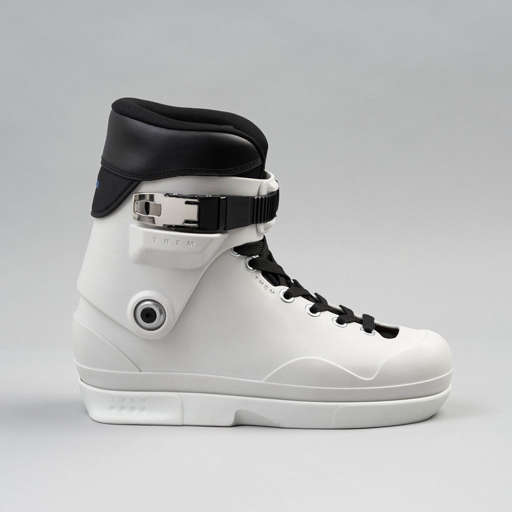 Them Skates 909 White Boot (Small only)