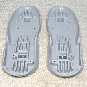Roces M12 / V13 Replacement Soulplates (Medium Gray)